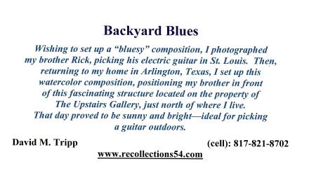 Card Backyard Blues text