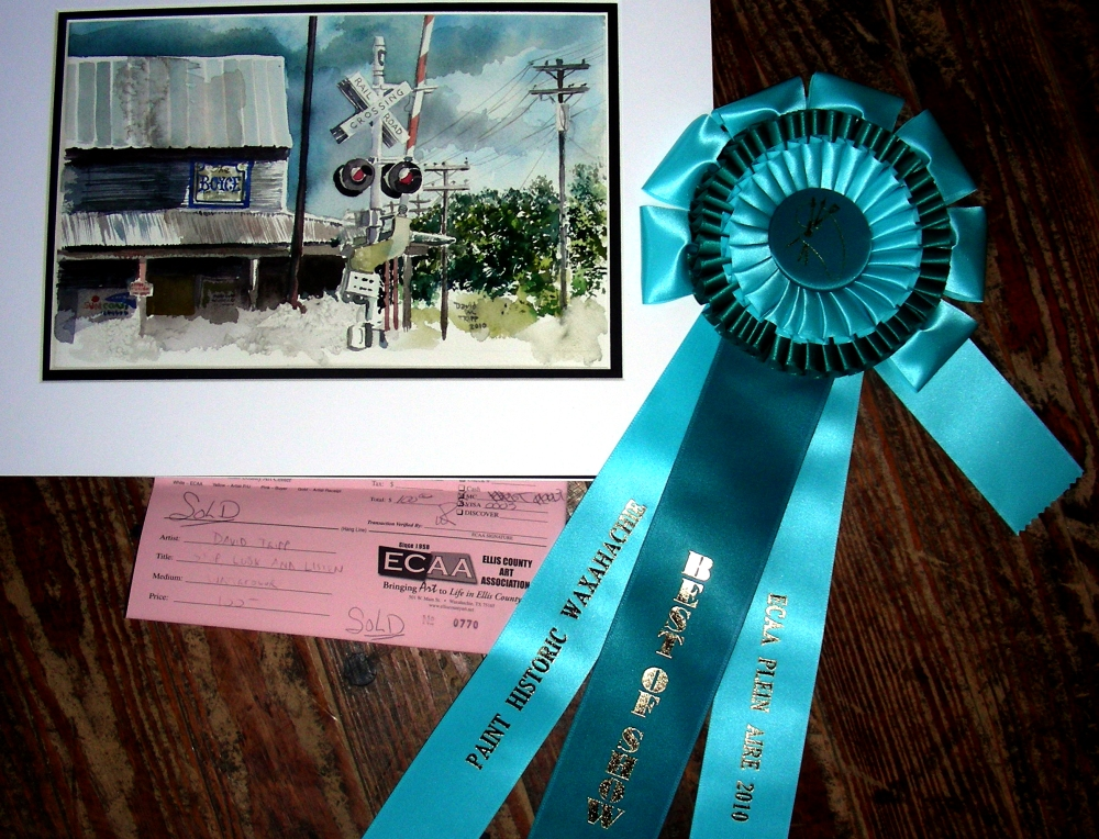 Best of Show, Paint Historic Waxahachie, June 4, 2010