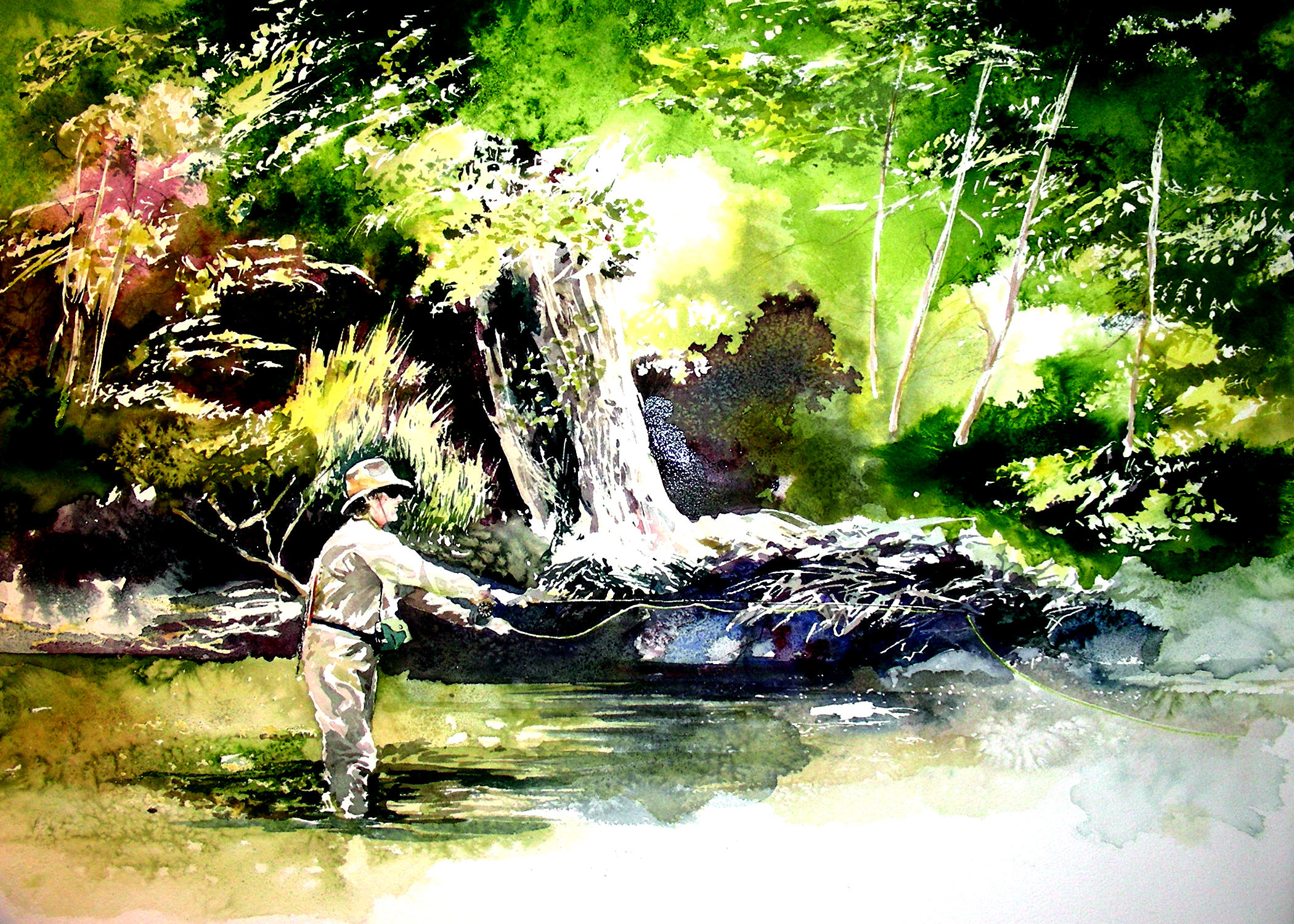 Fly fishing fly drawings - photo#42
