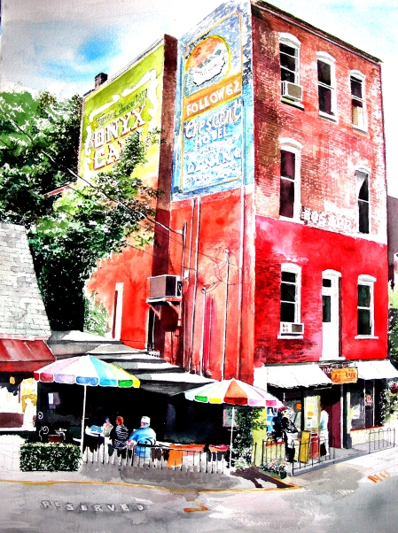 Eureka Springs Cafe Downtown