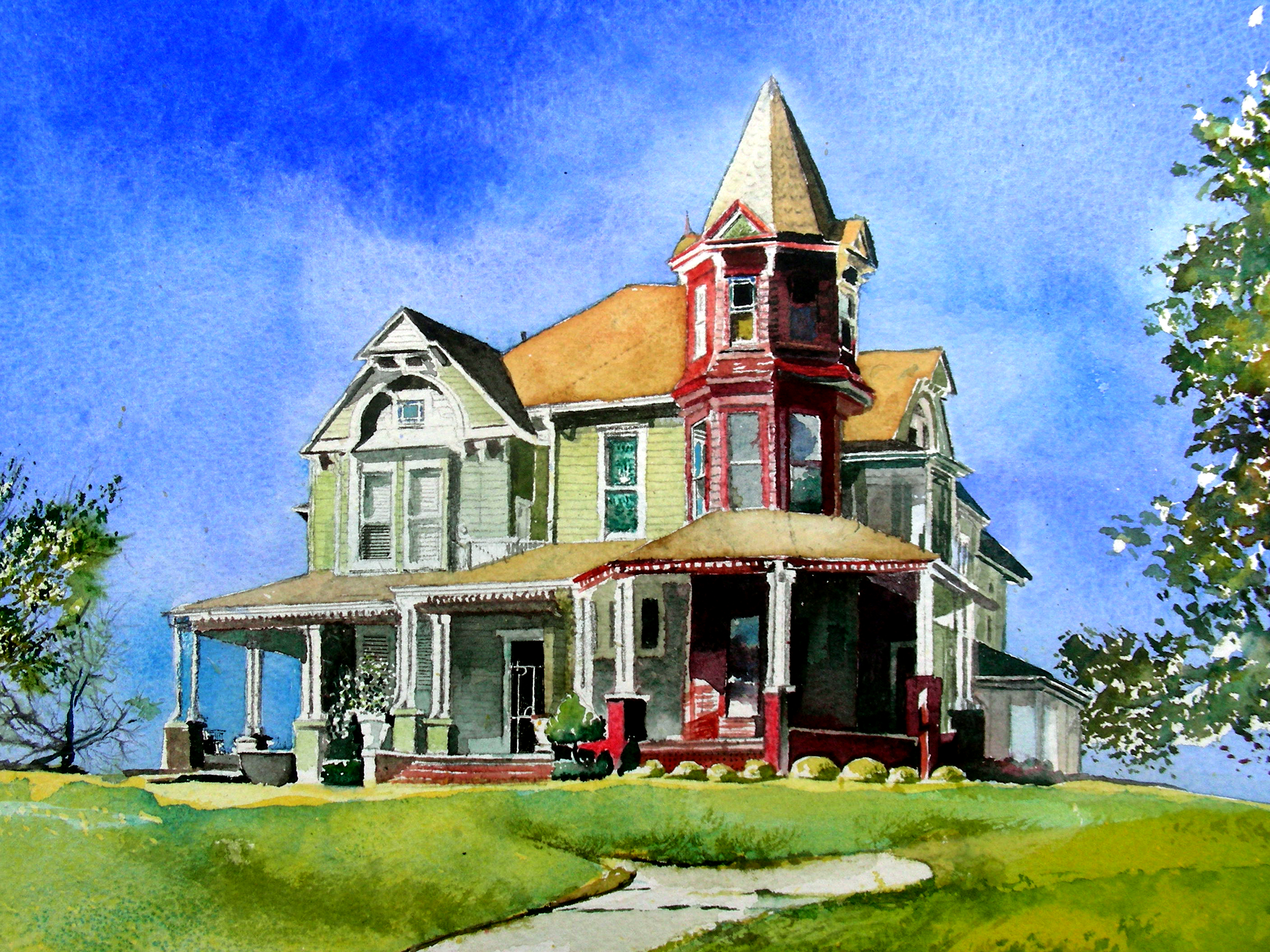 Victorian House | Recollections 54 The Art of David Tripp