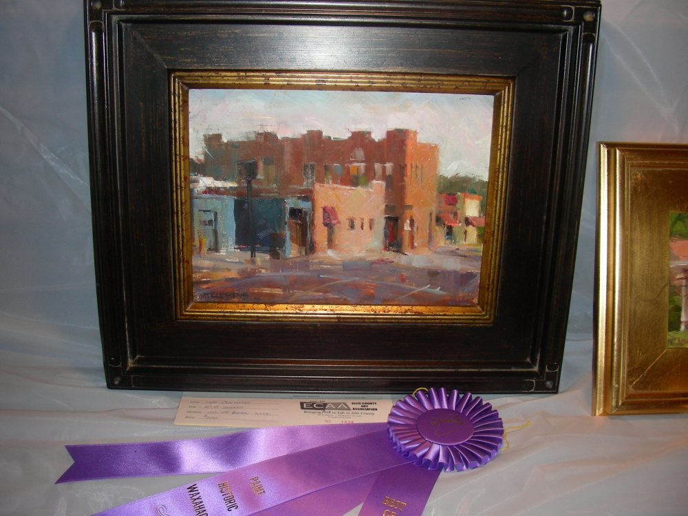 Honorable Mention at the Paint Historic Waxahachie Event (2/3)