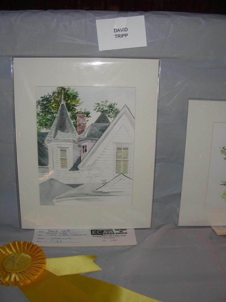 Honorable Mention at the Paint Historic Waxahachie Event (1/3)