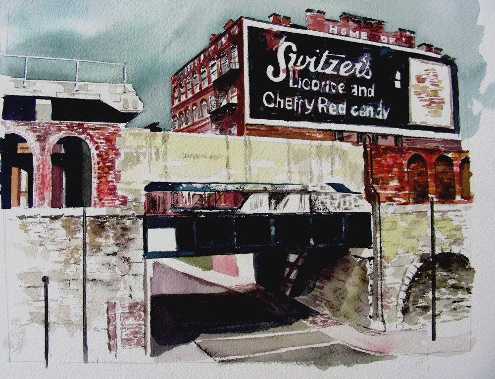 Finished the St. Louis Painting