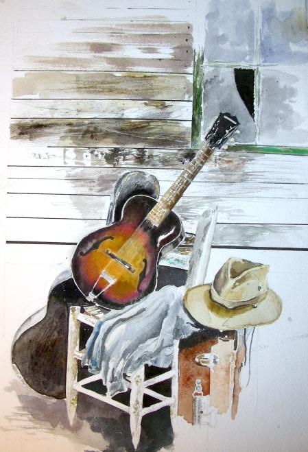 Gibson Guitar Still Life