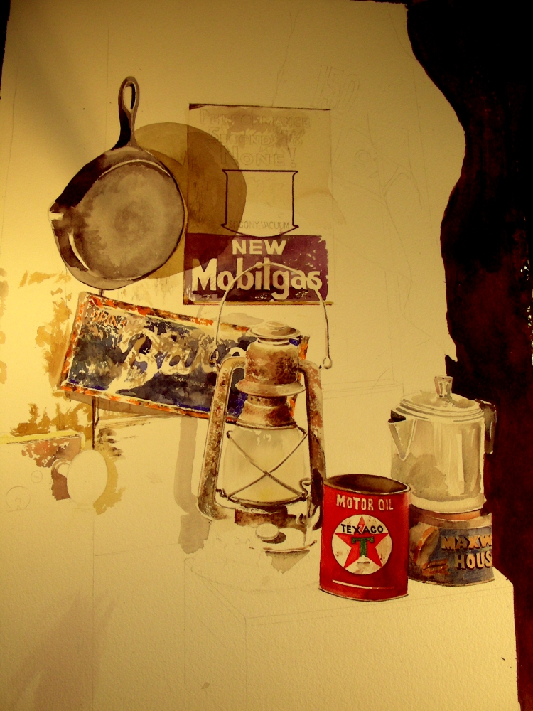 Peeling Back the Layers of the Watercolor Still Life