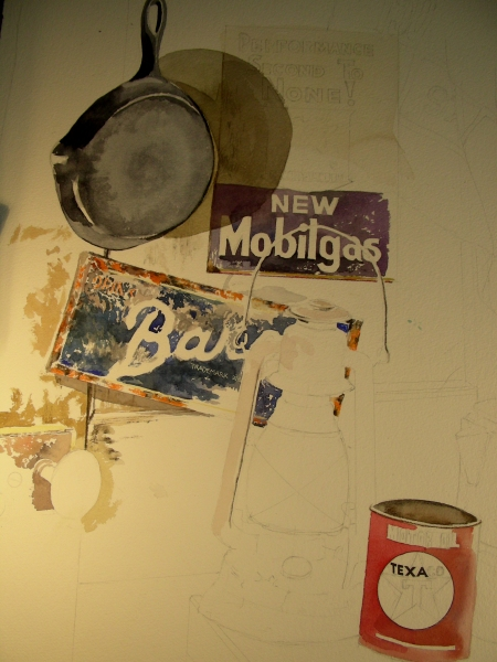 Chipping Away at the Still Life