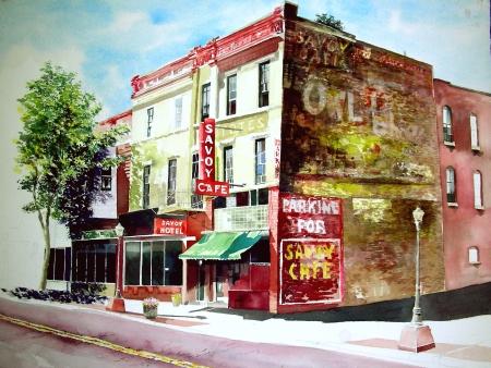 Savoy Coffee Shop in downtown Trinidad, Colorado