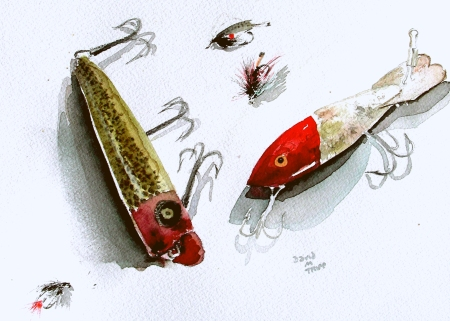 Lures and Flies