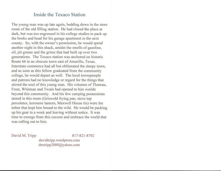 text inside Texaco Station