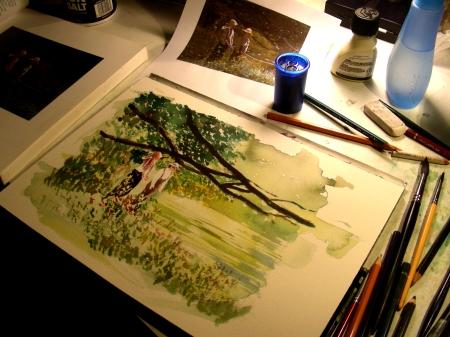 Winslow Homer, Second Attempt
