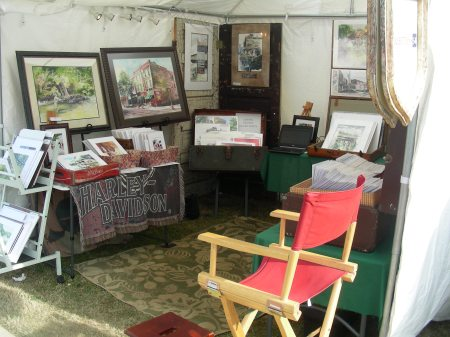 Tripp's Art Booth