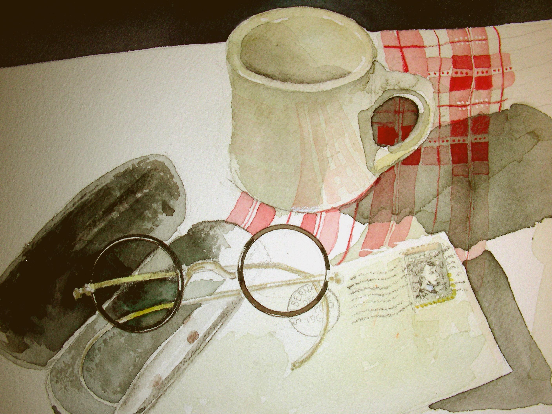 Sunday Morning work on the Cafe Still-Life