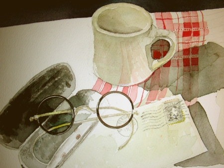 Sunday Morning work on the Cafe Still-Life