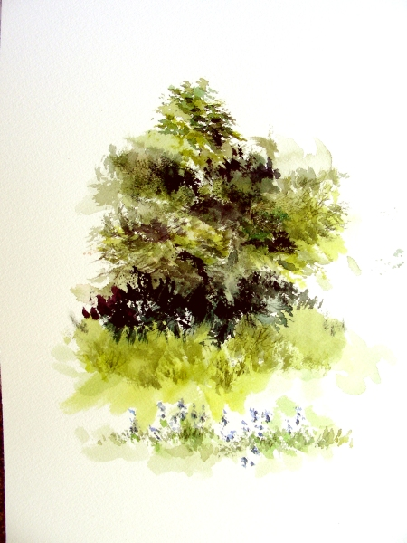 Plein Air Watercolor Sketch #2