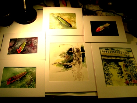 Newest Watercolors for the Art Festival