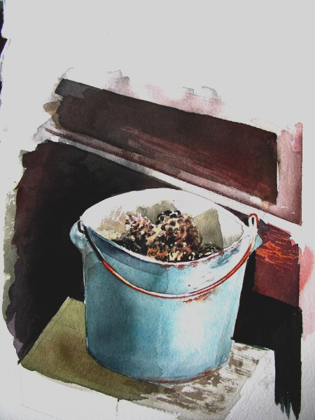 Trying to Emulate Andrew Wyeth wtih a Watercolor Still Life