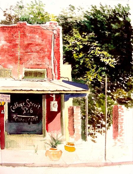 College Street Pub, Waxahachie, Texas