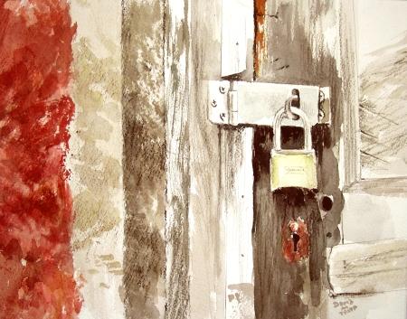 Barnard Mill Door