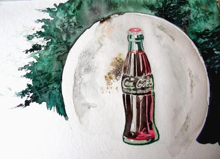 """36"""" Antique Coca-Cola Sign"""