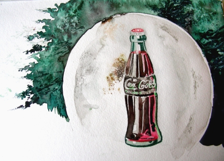 "36"" Antique Coca-Cola Sign"
