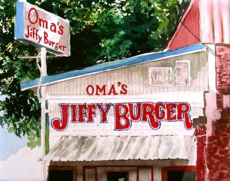 Oma's Jiffy Burger, Waxahachie, Texas