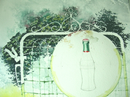 2nd Day on Coca-Cola Watercolor