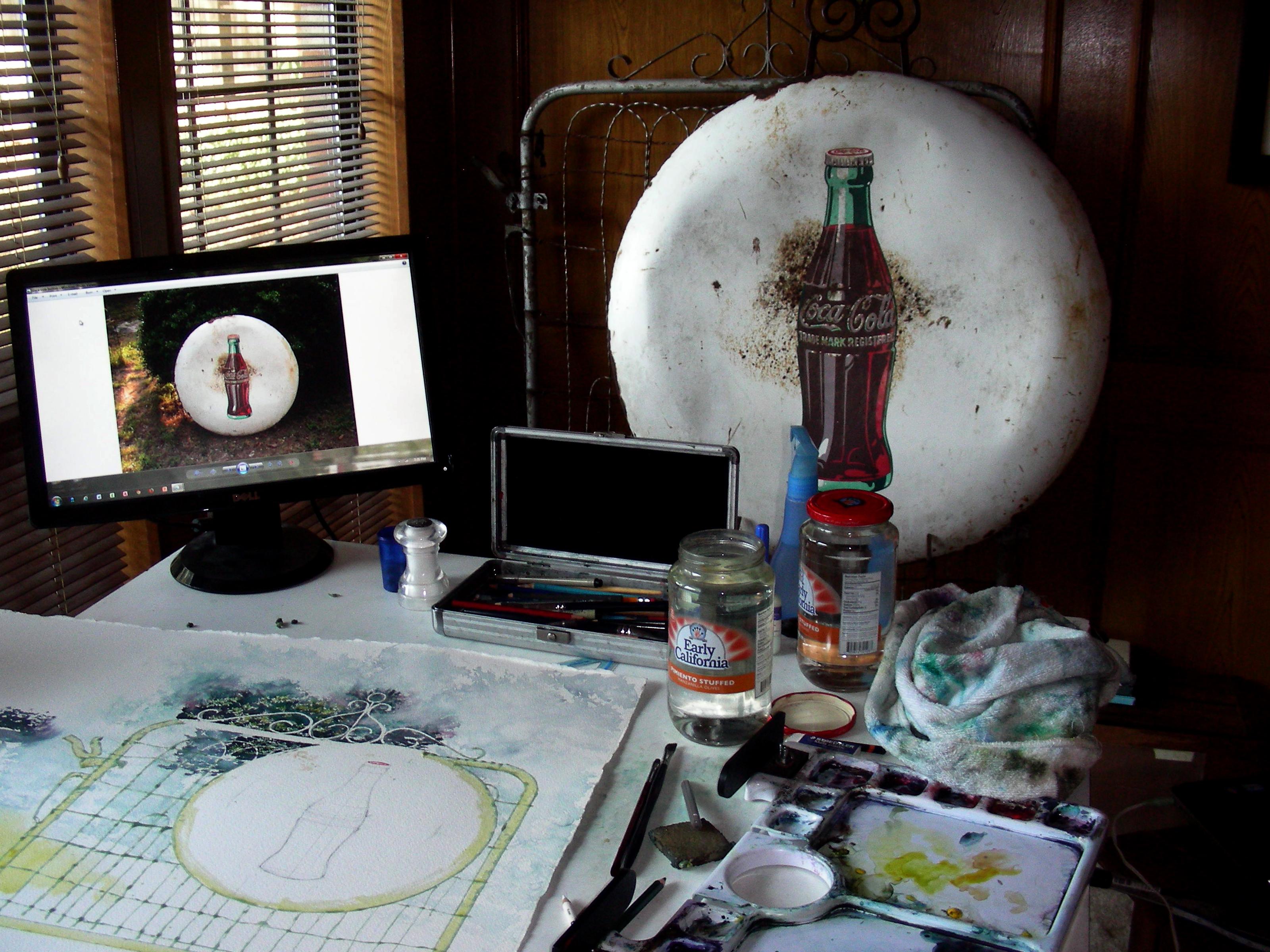 Still Life Set Up in the Studio