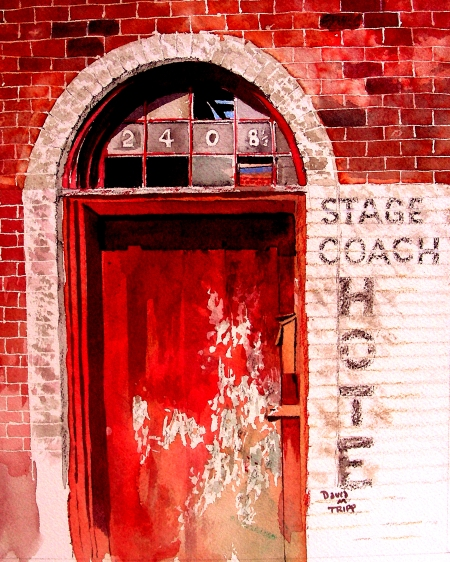 Stage Coach Hotel, Fort Worth Stockyards District