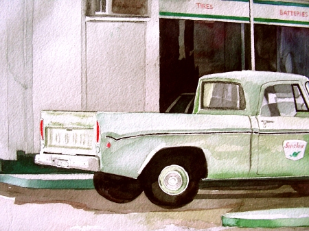 Detail of the Sinclair Truck