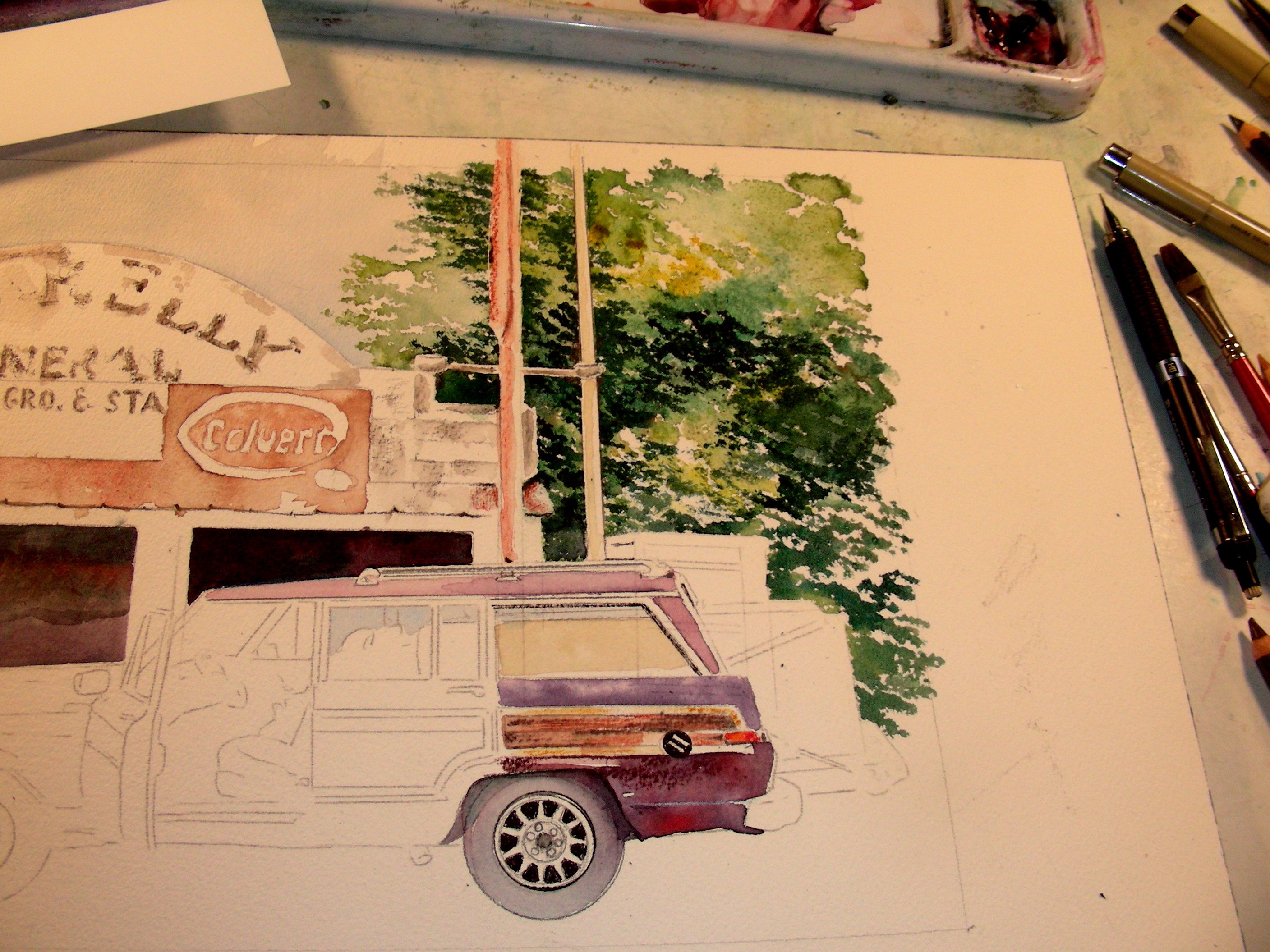 Beginning Work on a Second Commission