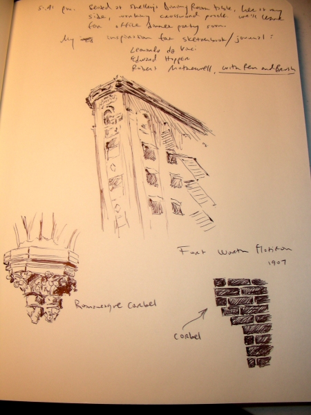 Architectural Thumbnail Sketches