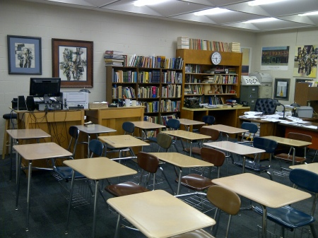 My 'Classroom.  A Theater of Dreams