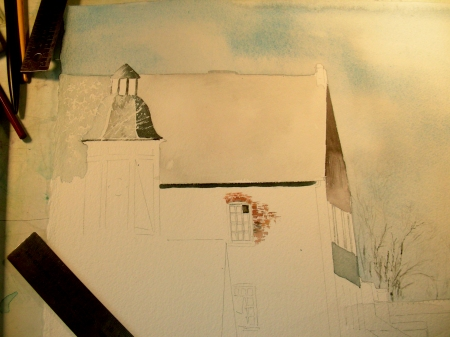 Returning to Work on the Hermann, Missouri Cityscape
