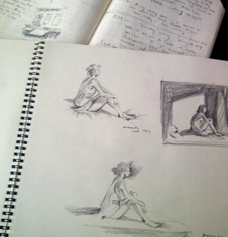 More Sketching from the Hopper Exhibit