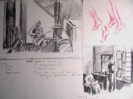 Sketching from the Hopper Collection