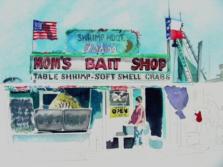 Revisiting an earlier start on a Texas Coast Bait Shop