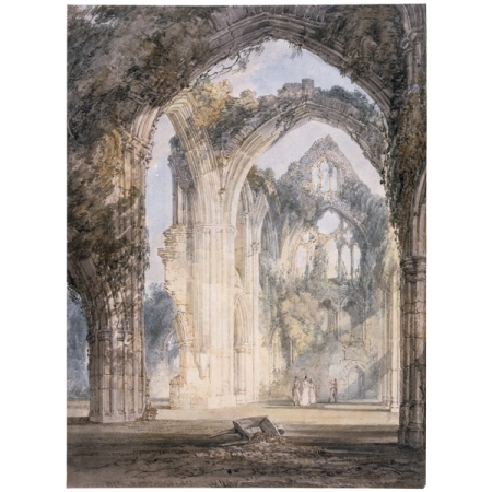 Tintern Abbey by J. M. W. Turner