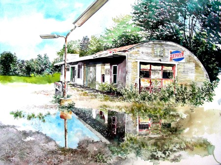 Completed Studio Watercolor