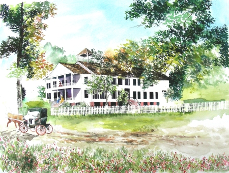 Nearing Completion on the Historic Louisiana Home