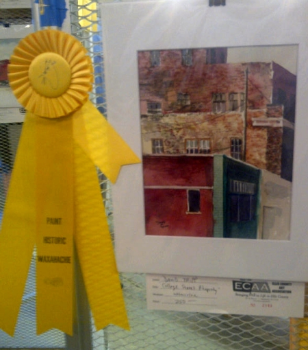 Honorable Mention at Paint Historic Waxahachie