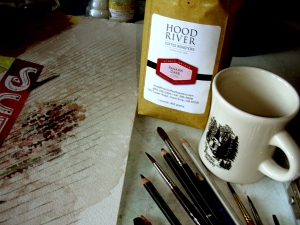 Coffee: the Perfect Companion in the Art Studio