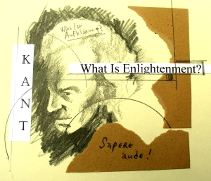 Immanuel Kant Drawing/Collage