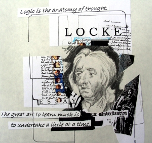 John Locke Drawing/Collage