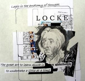 John Locke Drawing/Collage