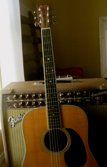 And Old Friend Waiting to be Played