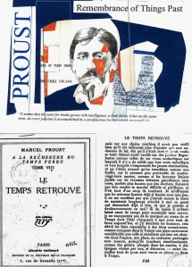 Proust Collage and French Editions