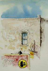 Plein Air Watercolor Sketchin in Hico, Texas
