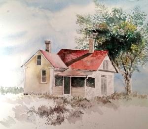 A Recent Watercolor Demo