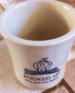 Coffee Mug from Larry McMurtry's Booked Up Inc. store